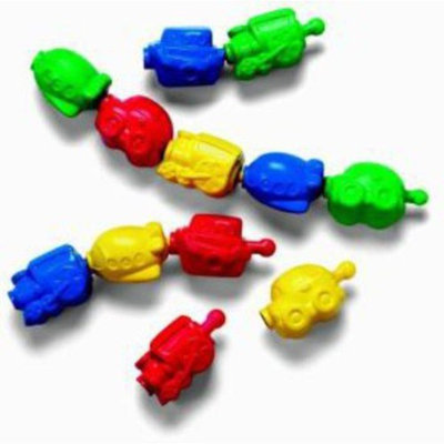 Brilliant basics snap lock beads - one color, one size