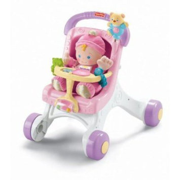 Fisher Price Brilliant Basics Stroll-Along Walker / M9523