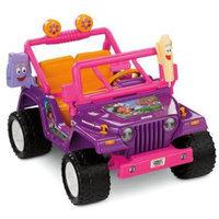 Fisher Price Power Wheels Dora Jeep Wrangler