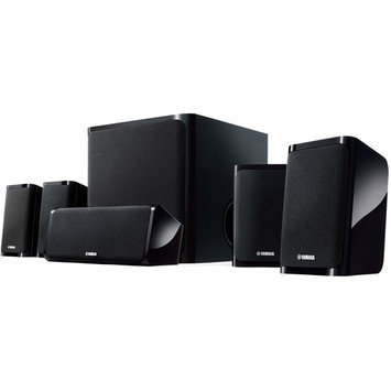 Yamaha NS-P40 5.1 Channel Home Theater Speaker Package (Black)
