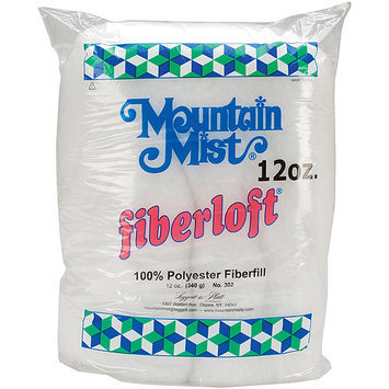Mountain Mist Fiber 51065 Fiberloft Polyester Stuffing12 Ounces FOB MI