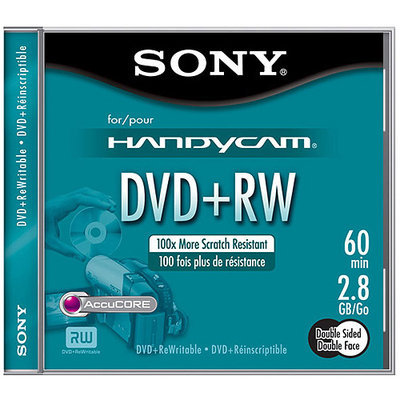 Sony Media DPW60SR2H DVD Rewritable 8cm Double Sided DVD-RW