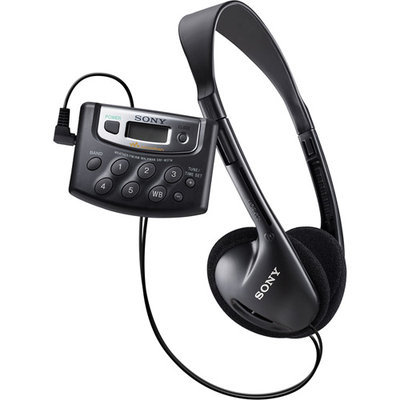 Sony SRF-M37W Walkman Digital Tuning Weather/FM/AM Stereo Radio