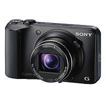 Sony - Cyber-shot DSC-H90 161-Megapixel Digital Camera - Black