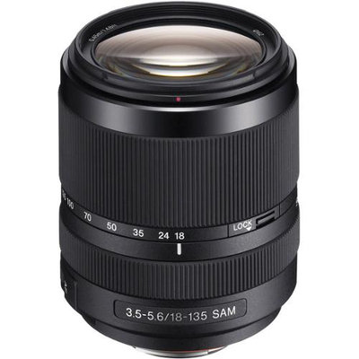 Sony DSLR LENS 18-135mmF3.5-5.6 62mm