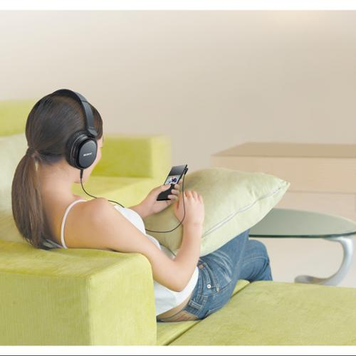 Sony Black Wireless Hi-Fi Headphones