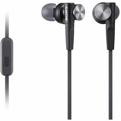 Sony Black Extra Bass Headphones