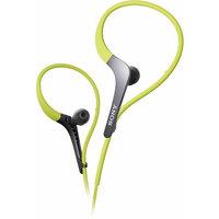 Sony Green Adjustable Ear Loop Sports Headphones