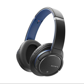 Sony - Over-the-ear Noise Canceling Stereo Headphones - Blue