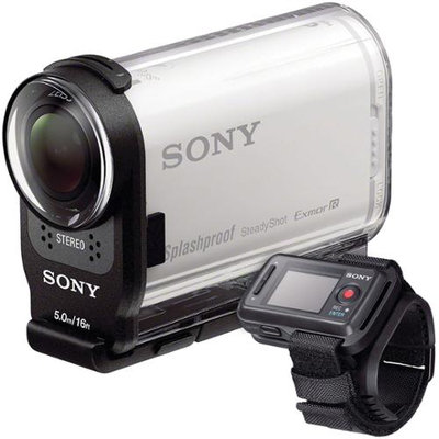Sony Action Cam HDR-AS200VR Wi-Fi HD Video Camera Camcorder & Live View Remote
