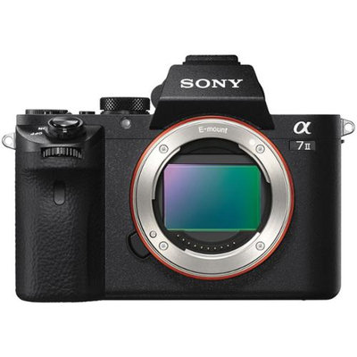 Sony - A7 Ii Digital Compact System Camera (body Only) - Black
