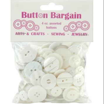 Blumenthal Lansing 91985 Button Bargain 4 Ounces-Whites