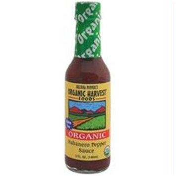 Organic Harvest B22843 Arizona Peppers Habanero Pepper Sauce -12x5 Oz