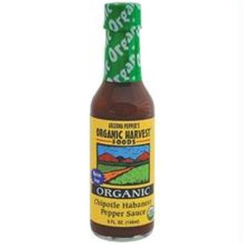 Organic Harvest B22845 Arizona Peppers Chipotle Habenero Pepper Sauce -12x5 Oz