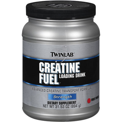 Twinlab Creatine Fuel Loading Drink, Fruit Punch 31.53 oz
