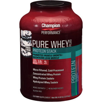 Champion Nutrition Pure Whey Plus Cookies & Cream - 4.8 lbs