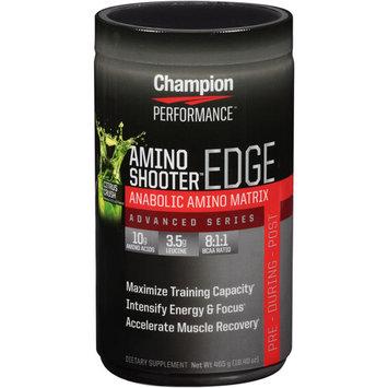 Champion Performance - Advanced Series Amino Shooter Edge Anabolic Amino Matrix Citrus Crush - 16.4 oz.