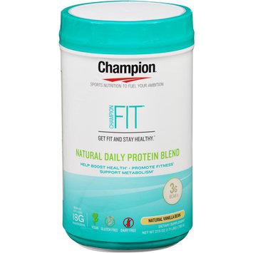 Champion Naturals - Fit Natural Daily Protein Blend Natural Vanilla Bean - 27.5 oz.