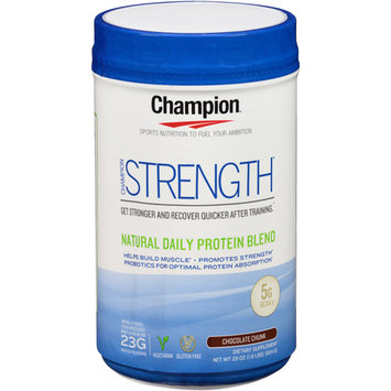 Champion Naturals - Strength Natural Daily Protein Blend Chocolate Chunk - 29 oz.