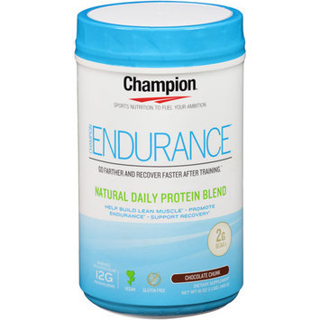 Champion Naturals - Endurance Natural Daily Protein Blend Chocolate Chunk - 16 oz.