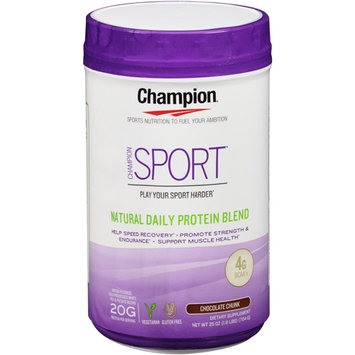 Champion Naturals - Sport Natural Daily Protein Blend Chocolate Chunk - 25 oz.
