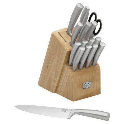 World Kitchen Chicago Cutlery Elston 16pc Knife Block Set