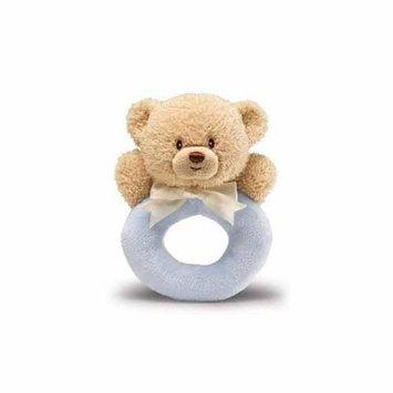 Gund/enesco Llc B2b Blue Teddi Ring Rattle by Gund - 4034082