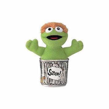 Enesco Sesame Street Oscar The Grouch Beanbag Plush - 5 Inches