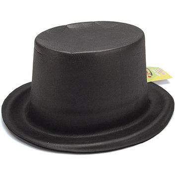 Fibre Craft Foam Top Hat, Black