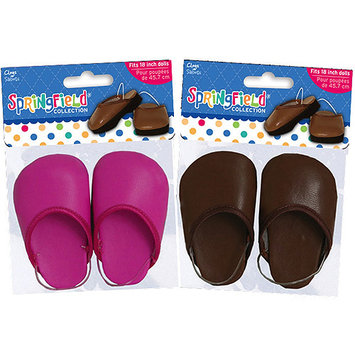 Fibre Craft Springfield Collection Clog Assortment: Pink & Brown - Limited Time 20% Off Sale! Price shown reflects discount.