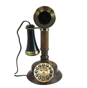 Golden Eagle Electronics WOODCANDLESTICK Gee805 Wood Candlestick Phone