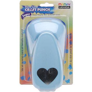 Marvy Uchida LVSJCP01 Clever Lever Super Jumbo Craft Punch