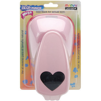 Uchida Clever Lever Mega Craft Punch-Scalloped Oval