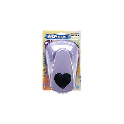Sams Club Clever Lever Giga Craft Punch-Scallop Heart