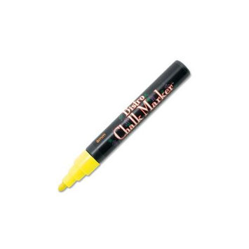 Uchida of America Bistro Chalk Marker, Erasable, Fluorescent Yellow