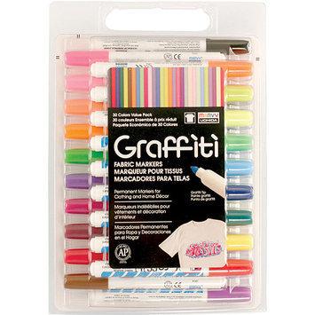 Uchida 560-30A Graffiti Fabric Marker Value Set 30-Pkg