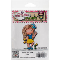 C.c. Designs Little Miss Muffet Cling Stamp 3.5