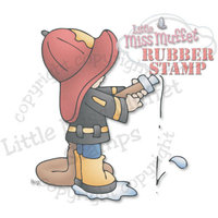 C.c. Designs Little Miss Muffet Cling Stamp 2.5