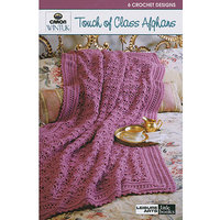 Leisure Arts-Touch Of Class Afghans