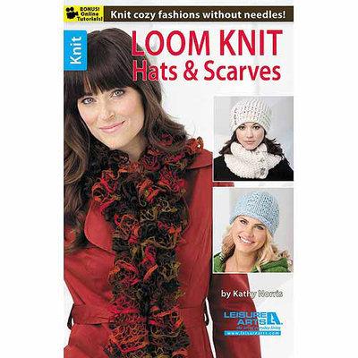 Leisure Arts-Loom Knit Hats & Scarves