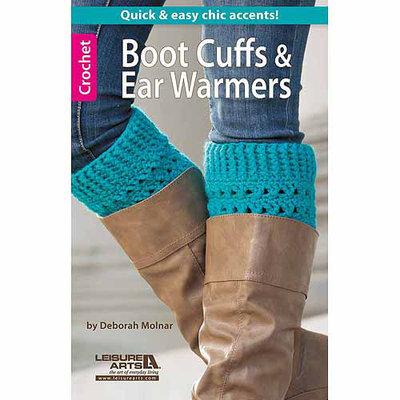 Leisure Arts-Boot Cuffs & Ear Warmers