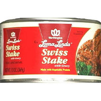 Loma Linda Swiss Stake With Gravy 13-Ounce Cans -Pack of 6