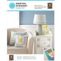 Plaid:craft Martha Stewart Adhesive Silkscreen 1 Sheet/Pkg-Damask 5 Designs