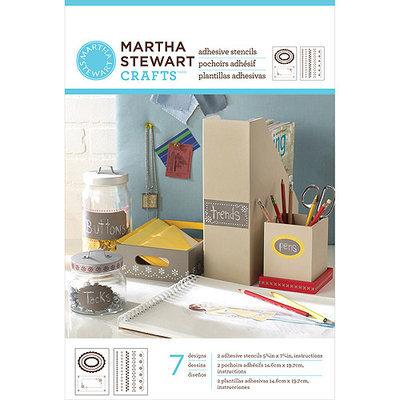 Plaid:craft Martha Stewart Crafts® Adhesive Stencils - Pretty Borders Design