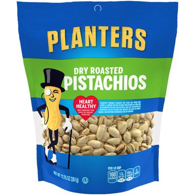 Planters Dry Roasted Pistachios Bag