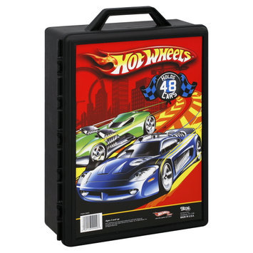 Tara Toys Tara Toy Hot Wheels Car Case (48pc) (Colors & Styles vary)