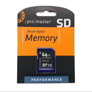 Promaster Performance Class 10 64GB SD Card