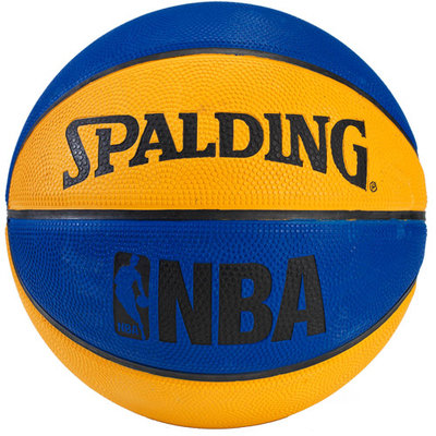 Spalding NBA Mini Basketball - Blue/Orange
