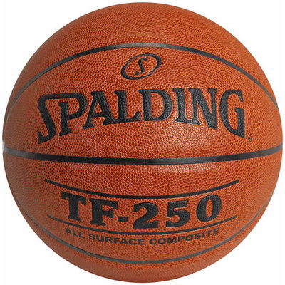 Intermediate / Women's Medium Channel Synthetic Leather Basketball From Spalding (Set of 2)