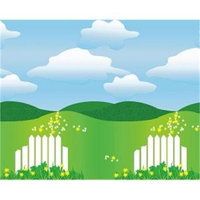 Pacon Fadeless Designs Bulletin Board Paper, Landscape, 50 ft x 48